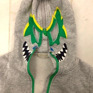 Stella McCarney Lucha Libre hoodie — 5 year old